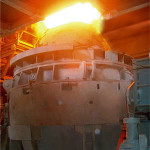 Metal Refining Konverters (AOD) is in process