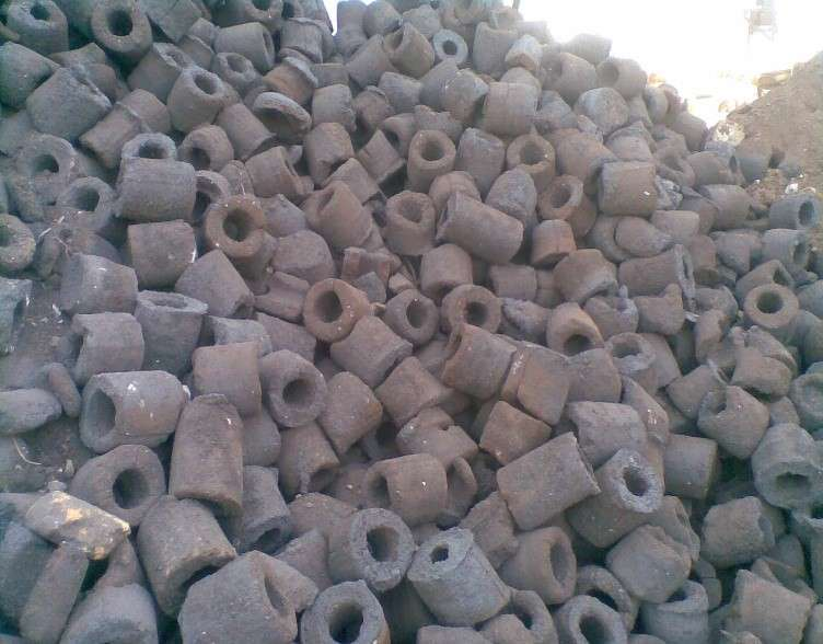 Spong Iron - A Sample Product derived from Tunnel Kiln