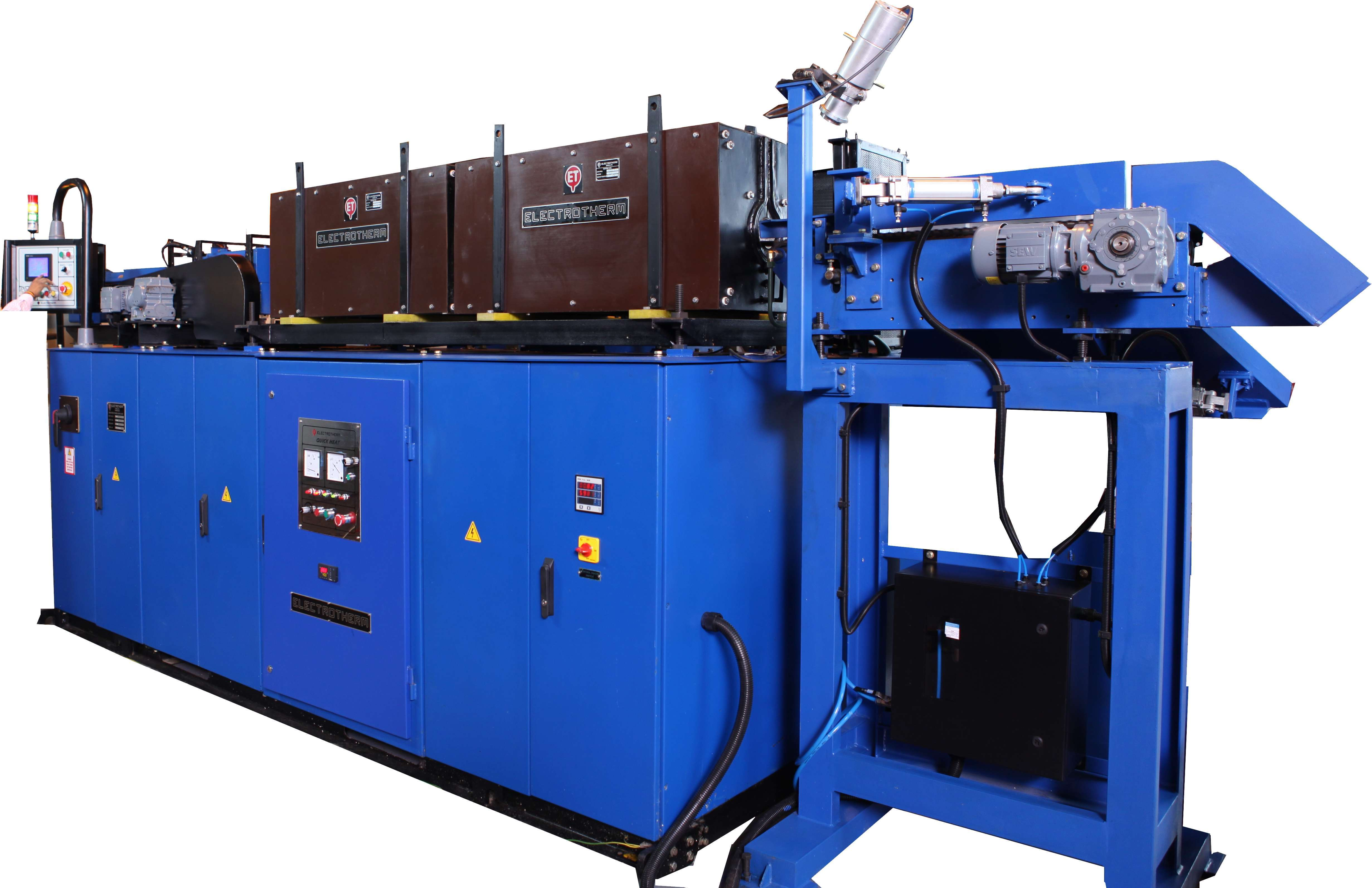 HNH Billet Heater - Induction Forging Furnace for Steel, Copper & Aluminum